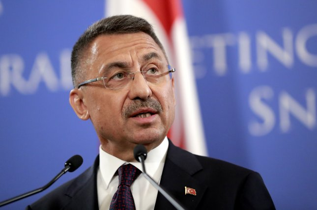 Turkish Vice President Fuat Oktay said Sunday that Turkey will not allow potential U.S. sanctions to prevent it from purchasing the S-400 missile defense system from Russia. Photo by Robert Ghement/EPA