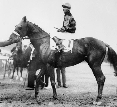 On June 11, 1919, Sir Barton became the first horse to win thoroughbred racing's Triple Crown. File Photo courtesy of Wikimedia