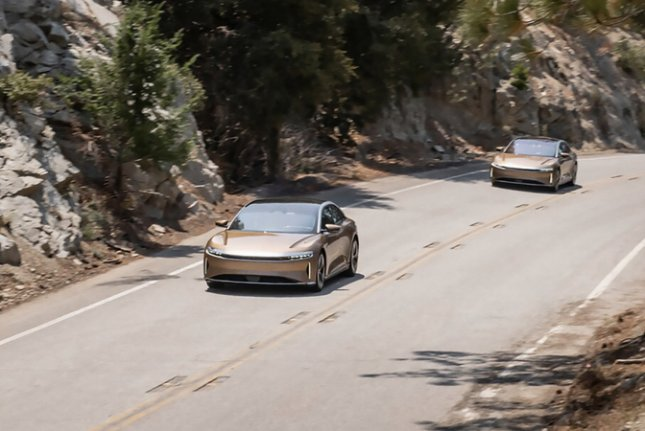 At 520 miles, Lucid's Air Dream Edition R vehicle would be able to go from Los Angeles to San Francisco without stopping.Photo courtesy Lucid Motors