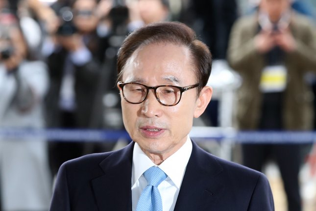 Arrest warrant issued for ex-South Korean President Lee: Yonhap