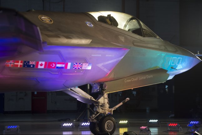 There are indications that the Israelis have flung the first nine of the 50 F-35s they ordered from U.S. defense contractor Lockheed Martin into action against Iranian forces in southern Syria in recent weeks. File Photo by Michael Reynolds/EPA