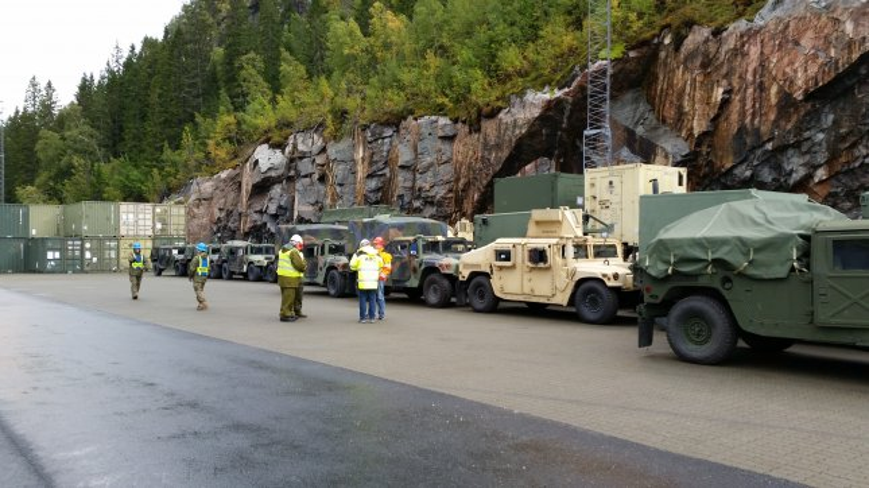 Expanded Marine Rotational Force Deploys To Norway Upi