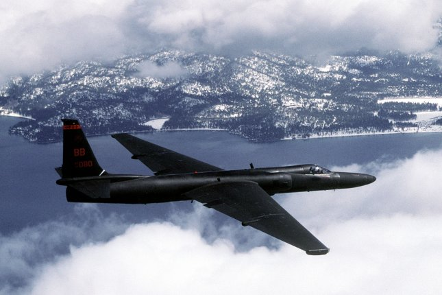 A South Korea-based online aviation tracker published data tracking the U.S. U-2S surveillance aircraft near Taiwan on Thursday. File Photo courtesy of Master Sgt. Rose Reynolds/U.S. Air Force