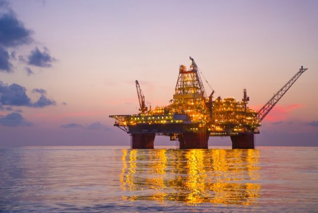 A Florida State scientist has discovered several dozen previously unidentified underwater landslides in the Gulf of Mexico, which may pose risk to oil and gas infrastructure -- including drilling rigs. File Photo courtesy of BP