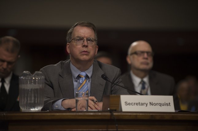 Current Deputy Secretary of Defense  David Norquist will serve as acting secretary of defense when President-elect Joe Biden takes office, multiple sources reported Thursday. File Photo by U.S. Army Sgt. Amber I. Smith/Department of Defense