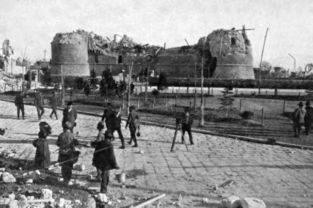On January 13, 1915, nearly 30,000 people were killed in an earthquake in Avezzano, Italy. File Photo courtesy E. Navone & Co