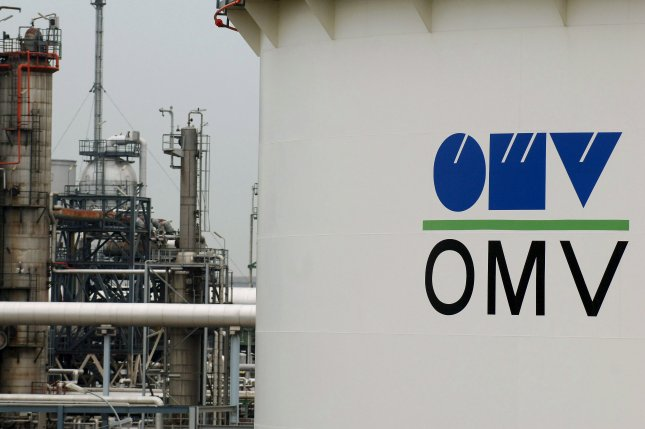 Austrian energy company OMV said it expects crude oil prices will be on average lower than they are for the Wednesday session. File photo by Robert Jaeger/EPA