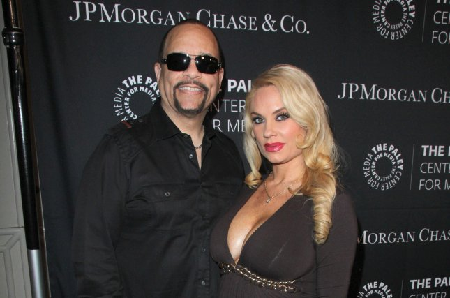 Coco Austin (R) and Ice-T attend the Paley Center's Hollywood Tribute to African-Americans in TV on October 26, 2015. The television personality shared a clip Tuesday of daughter Chanel getting low to Dora the Explorer. File Photo by Helga Esteb/Shutterstock