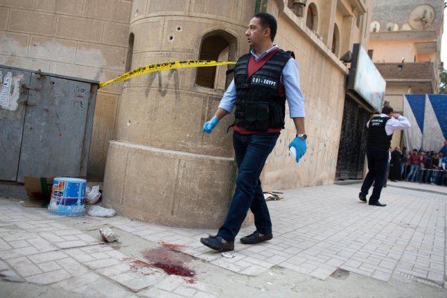 Gunman fires on Coptic church