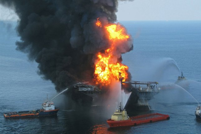 The Deepwater Horizon disaster was the largest oil spill in U.S. history. Photo courtesy of U.S. Coast Guard