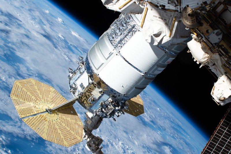 Northrop Grumman's Cygnus cargo craft departed the International Space Station on Monday. File Photo courtesy of NASA