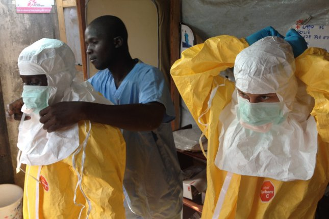 Though frightening and very lethal, relatively simple precautions can break the cycle of transmission and stop the Ebola epidemic from spreading. The European Commission's Humanitarian Aid and Civil Protection department (ECHO) supports MSF, WHO and IFRC in their efforts to contain the epidemic. UPI/FILE/EC/ECHO/