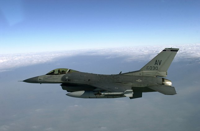 F-16 jet crashes in Nevada, pilot's condition unknown