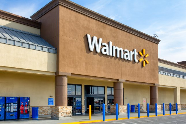 Walmart to take on amazon in ebook audiobook business upi the exterior of a walmart store in salinas calif on thursday the company announced its plans to offer ebooks and audiobooks online as well as start an fandeluxe Choice Image