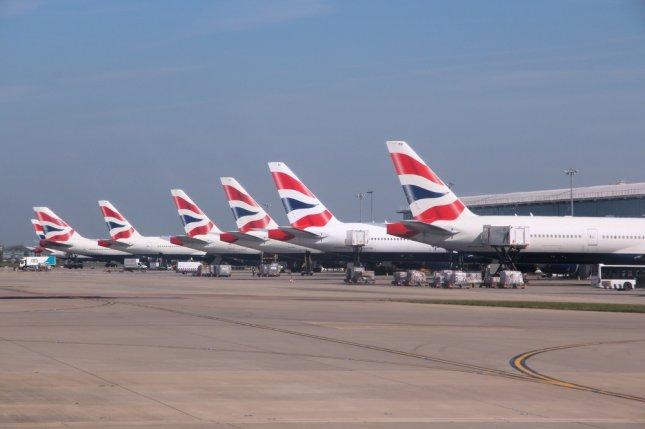 The expansion plan would have added a runway at Heathrow Airport, which is already one of the world's busiest. File Photo by Tupungato/Shutterstock/UPI