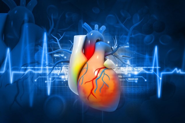 Researchers have created a new gel to apply to damaged heart tissue that may prevent the formation of fibrous bands. File Photo by hywards/Shutterstock