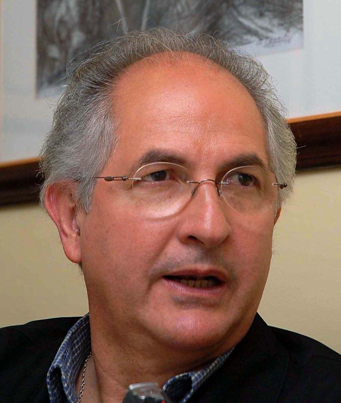 Antonio Ledezma, the jailed mayor of Caracas, Venezuela, was hospitalized April 25, 2015. Photo courtesy of Agencia Brasil http://en.wikipedia.org/wiki/Antonio_Ledezma#mediaviewer/File:Ledezma.jpg