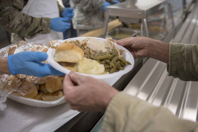 Meals for the U.S. military's annual Thanksgiving Feed-the-Troops tradition will shift to a grab-and-go style rather than large sit-down group gatherings in dining facilities due to the COVID-19 pandemic. Photo by Master Sgt. Joshua Allmaras