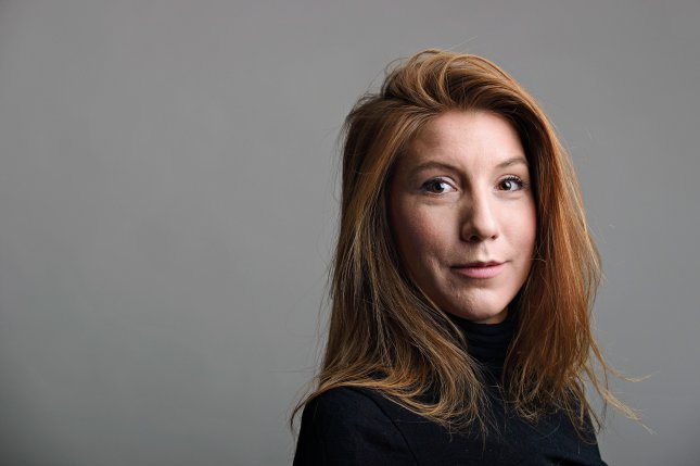 Swedish journalist Kim Wall disappeared last week after boarding a private submarine in Denmark -- that subsequently sank. Madsen has been charged in her presumed death. Photo by Tom Wall/EPA