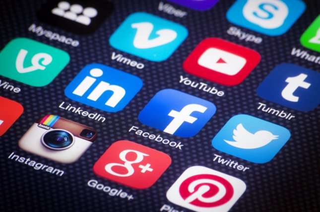 Information from some Facebook and Twitter users was accessed to a third party, the platforms said Monday. File Photo by Twin Design/Shutterstock