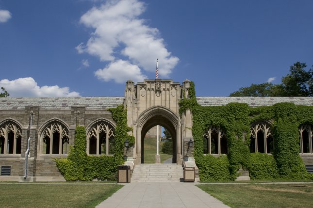 Ivy-covered arched windows on the grounds of Cornell University in Ithaca, N.Y. Photo by intoit/Shutterstock