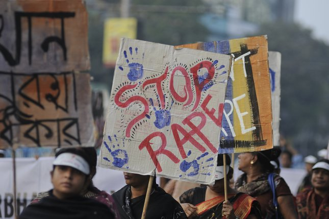 The Indian Supreme Court upheld its death penalty Monday against three men convicted in a 2012 gang rape case, a prosecution that sparked a number of protests that called for attention to violence against women. File Photo by Arindambanerjee/Shutterstock/UPI