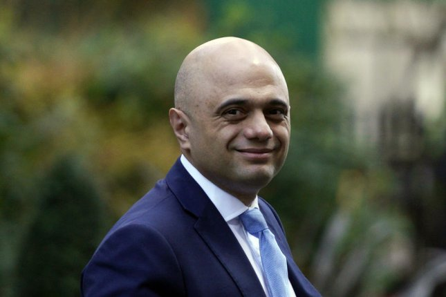 Javid unexpectedly resigned Thursday amid a reshuffling of Prime Minister Boris Johnson's Cabinet. Photo by Will Oliver/EPA-EFE