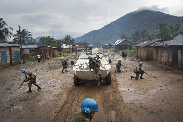 The United Nations said peacekeeper and associated personnel deaths in 2018 were half the number recorded in 2017. File Photo by Sylvain Liechti/MONUSCO