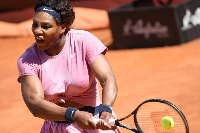 Serena Williams (pictured) needed just 68 minutes to beat 17-year-old Italian Lisa Pigato in a Round of 32 match at the 2021 Emilia-Romagna Open on Monday in Parma, Italy. Photo by Ettore Ferrari/EPA-EFE