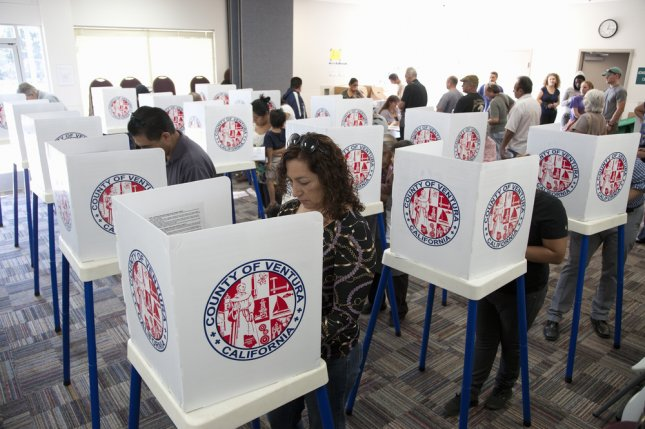 New research Wednesday said Hispanic voters will for the first time represent the largest racial minority in next year's presidential election. File Photo by American Spirit/Shutterstock /UPI