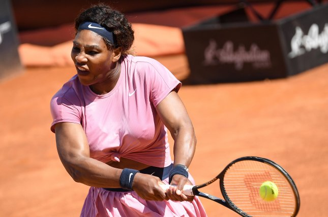 Serena Williams, shown May 12, 2021, hasn't advanced past the fourth round at the French Open since finishing as the runner-up in 2016. File Photo by Ettore Ferrari/EPA-EFE