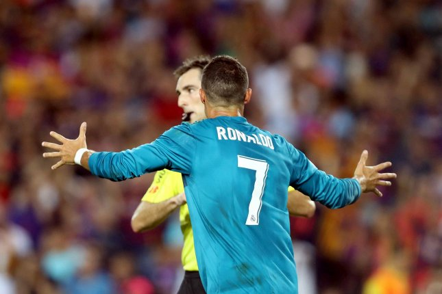 Ronaldo banned for five matches for pushing referee