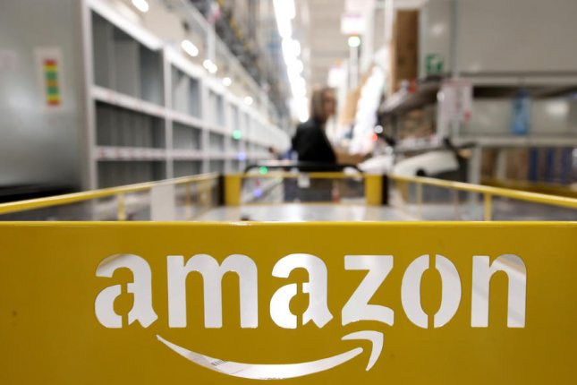 A worker at an Amazon warehouse near Swansea, Wales, is asking customers to search their packages for an engagement ring that fell off her finger while she was working. File Photo by Friedemann Vogel/EPA-EFE