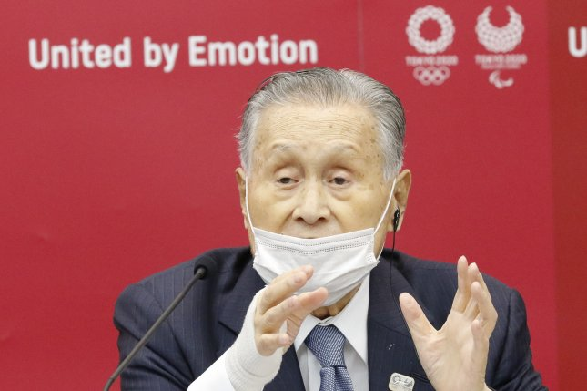Yoshiro Mori, the top Japanese official on the Tokyo Olympics organizing committee, has refused to step down after making derogatory remarks about women. File Photo by Rodrigo Reyes Marin/EPA-EFE