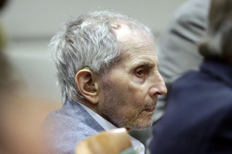 Real estate heir Robert Durst is scheduled to be sentenced October 18. File Photo by Alex Gallardo/EPA-EFE