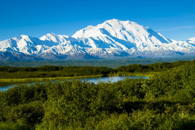 Denali, formerly called Mount McKinley, in Alaska, is shown. At least four people have died after a plane crashed while touring Denali National Park. File photo by bcampbell65/Shutterstock