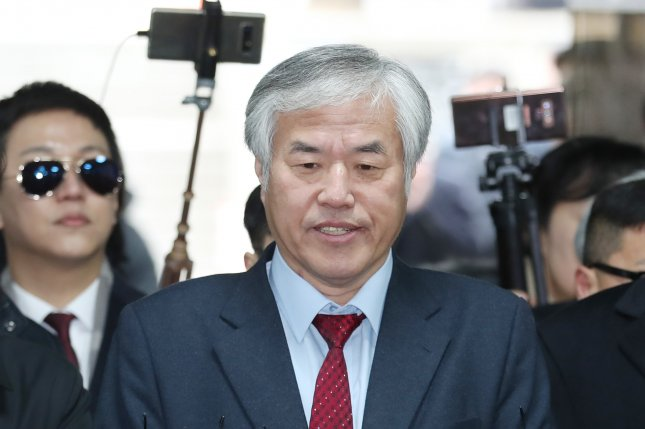 The Seoul Metropolitan Government announced Friday that it would file a $4 million claim against the Rev. Jun Kwang-hoon for his actions in causing an outbreak of COVID-19 in August. File Photo by EPA-EFE/Yonhap