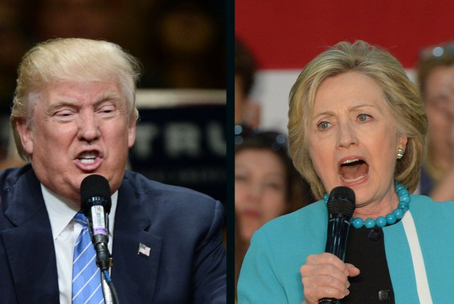 Hillary Clinton regained the lead over Donald Trump in Tuesday's UPI/CVoter daily tracking poll for the first time in two weeks. UPI File Photos
