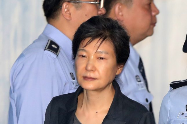 South Korea's Supreme Court upheld the 20-year prison term of former President Park Geun-hye on Thursday. She was convicted on charges including bribery and abuse of power in 2017. Photo by EPA-EFE/Yonhap