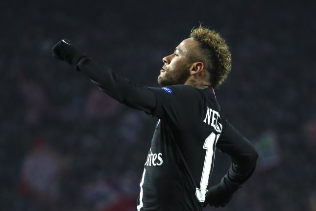 Paris Saint-Germain's Neymar Jr. has 34 goals in 37 appearances with the club since signing from Barcelona in 2017, Photo by Srdjan Suki/EPA-EFE