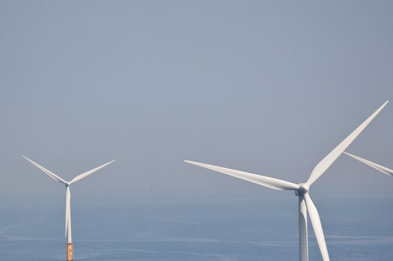 Scottish government grants license to build a floating type of wind farm off its coast. File photo by Teun van den Dries/Shutterstock