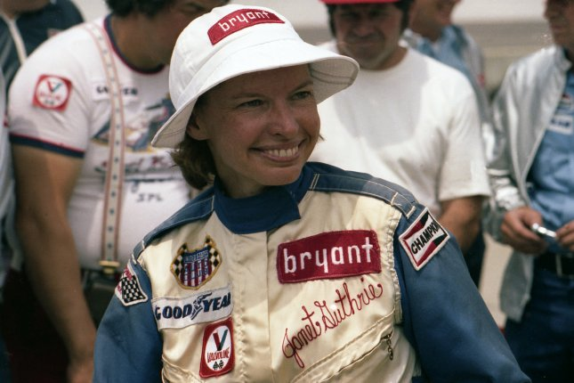 Janet Guthrie was the first woman to drive in the Indianapolis 500 in 1977. She is seen here when she first qualified for the Indy 500. File Photo courtesy of INDYCAR/Indianapolis Motor Speedway