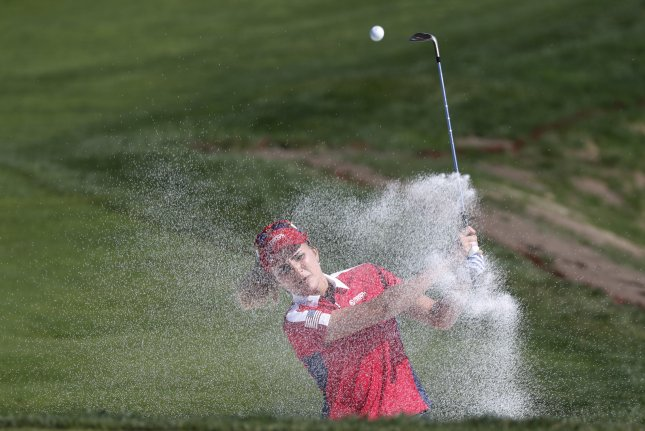 Golfer Lexi Thompson has finished in the top three of two major championships this season on the LPGA Tour. Photo by Jeon Heon-Kyun/EPA-EFE