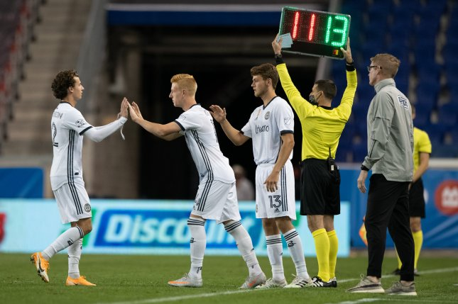 MLS teams will be allowed to make two concussion substitutions, in addition to five standard substitutions, during games in 2021 as part of a trial program. Photo by Andrew Zwarych/Philadelphia Union