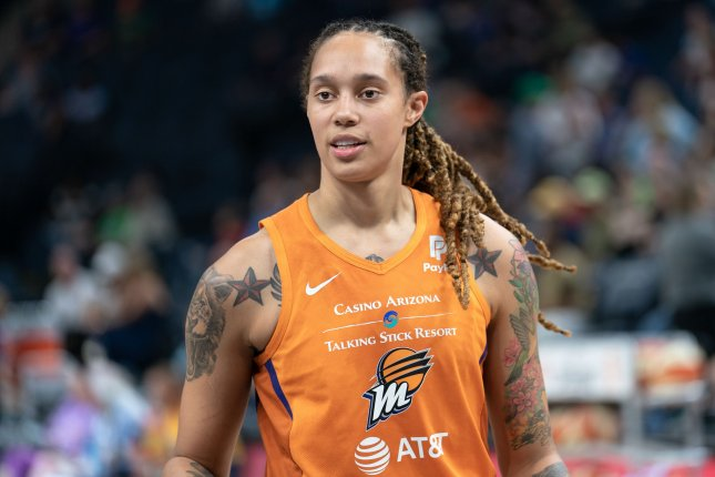 Brittney Griner scored 29 points in the Phoenix Mercury's win over the Chicago Sky in Game 2 of the 2021 WNBA Finals on Wednesday in Phoenix. Photo by Lorie Shaull/Wikimedia Commons