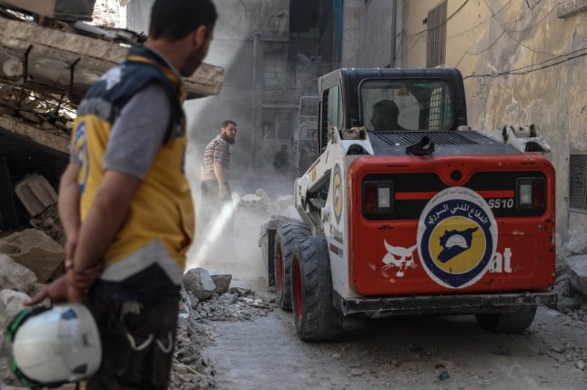 Israeli military evacuates hundreds of White Helmets rescue workers from Syria