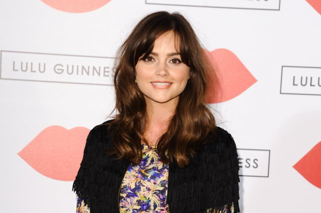 Victoria star Jenna Coleman at the Lulu Guinness Paint Project event in London on July 11, 2013. File photo by Featureflash/Shutterstock