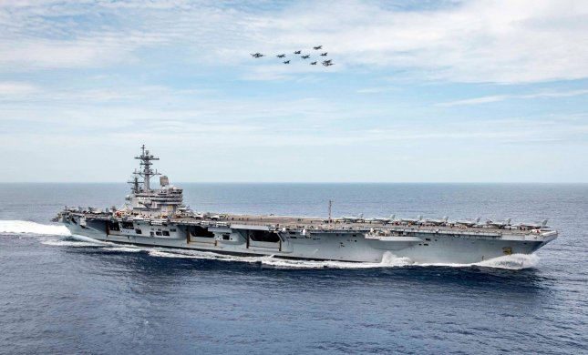 The USS George H.W. Bush, CVN77, will enter a dry-docking planned incremental availability this month for maintenance and upgrades that is expected to be complete by February 2021. Photo by USS George H.W. Bush/U.S. Navy/Facebook
