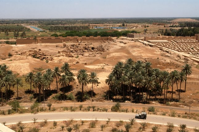 The ancient Iraqi city of Babylon is one of five sites added to the UNESCO World Heritage List. File Photo courtesy of the U.S. Navy
