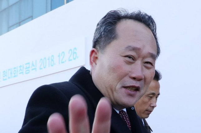 North Korean Foreign Minister Ri Son Gwon said that Pyongyang was 'not considering' the possibility of meeting with the United States for nuclear negotiations. File photo by EPA-EFE